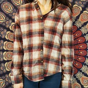 Vintage Hipster Red Flannel